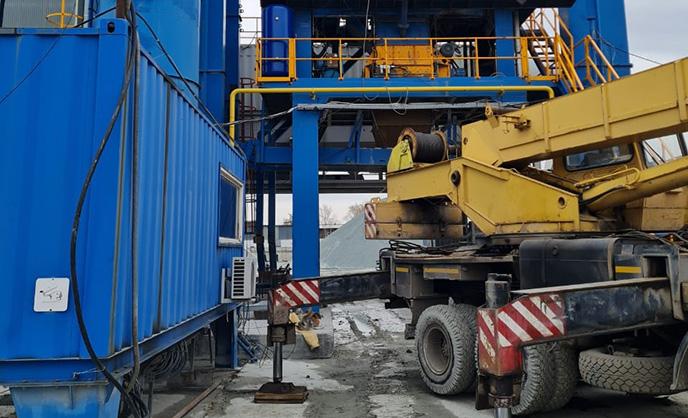 Модернизация АБЗ SPECO АР-2000FFW