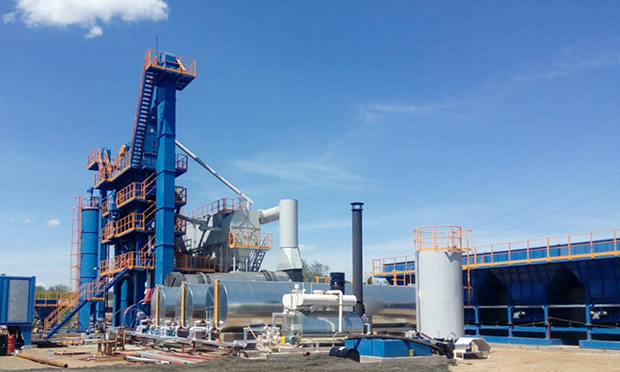 запуск асфальтобетонного завода AP-2500FFW