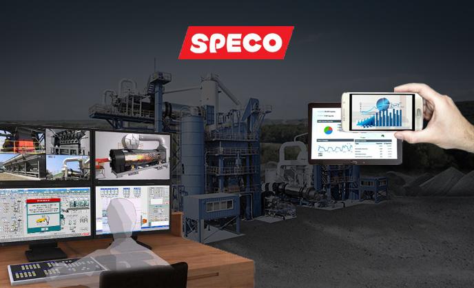панель управления АБЗ SPECO Smart Jump UP